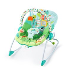 Bright Starts gultukas-vibro kėdutė Playful Parade Baby to Big Kid Rocker™