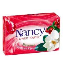 Muilas su magnolijų ir guaranos ekstraktais Nancy 60 g kaina ir informacija | Dušo želė, muilai | pigu.lt