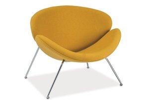 2-jų fotelių komplektas Major, geltonas kaina ir informacija | Sofos, foteliai ir minkšti kampai | pigu.lt