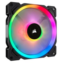 Corsair Fan LL120 RGB LED Static Pressure, 120 mm, PWM, 3-pack (CO-9050072-WW)