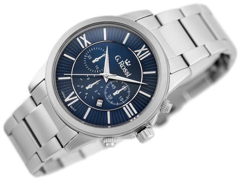 Vyriškas laikrodis Gino Rossi GR6846SM kaina