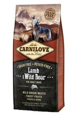 Carni Love Lamb & Wild Boar for Adult 12kg + 2 kg