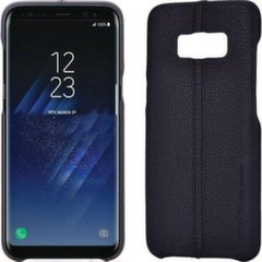 Usams Joe Series Ultra Thin Leather Back Case For Samsung Note 8 Black