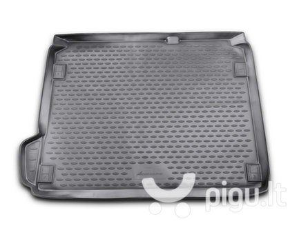 Guminis bagažinės kilimėlis CITROEN C4 hb 2011-> black /N08010