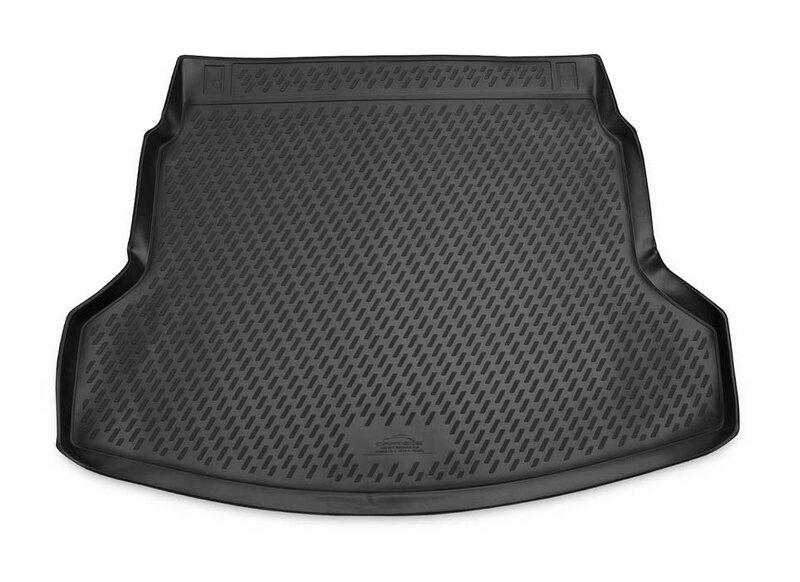 Guminis bagažinės kilimėlis HONDA CR-V 2012-2015, 2015-> black /N16012