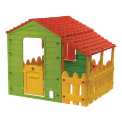 Plastikinis žaidimų namelis Buddy Toys Farm with Porch, Made in Israel