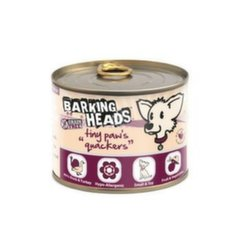 Barking Heads konservai Tiny Paws Quackers, 200 g