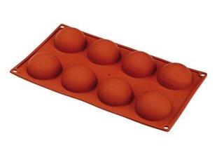 Elastotech силиконовая форма Полусферы D6 см, 8 ячеек
