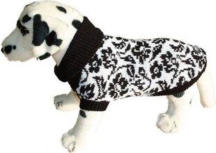 Amiplay megztinis, 26 cm, juodos gėlės