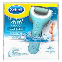Elektrinis pėdų šveitiklis Scholl Velvet SmoothWet and Dry