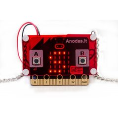 Micro:bit Dėžutė su Grandinėle цена и информация   Электроника с открытым кодом   pigu.lt