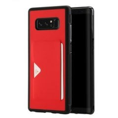 Dux Ducis Pocard Series Premium High Quality and Protect Silicone Case For Samsung Note 8 Red