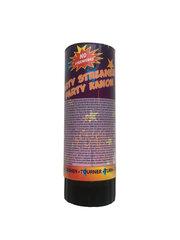 Šventinė konfeti mini patranka, 11 cm, 1 vnt kaina ir informacija | Dekoracijos šventėms | pigu.lt
