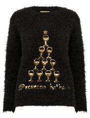 Kalėdinis megztinis moterims Merry Christmas