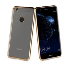 Huawei P9 Lite (2017) cover Coque Bling by Muvit Gold kaina ir informacija | Huawei P9 Lite (2017) cover Coque Bling by Muvit Gold | pigu.lt