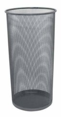 Šiukšliadėžė metalinė, juoda kaina ir informacija | Kanceliarinės prekės | pigu.lt