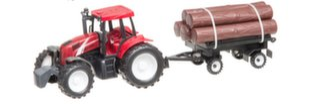 Traktorius su priekaba 44 cm
