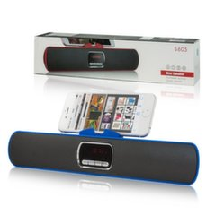 Mocco Rocket Portable Speaker Bluetooth 4.0 / 6W / Stereo / Micro SD / USB / Blue