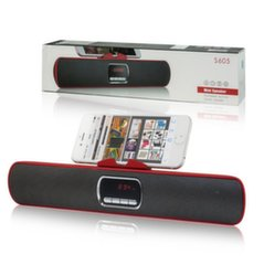 Mocco Rocket Portable Speaker Bluetooth 4.0 / 6W / Stereo / Micro SD / USB / Red