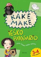 Vaikiška užduočių knygelė Kakė Makė ieško pavasario