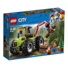 60181 Konstruktorius LEGO® City Great Vehicles Miško traktorius