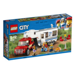 60182 LEGO® CITY Great Vehicles Pikapas ir namelis ant ratų