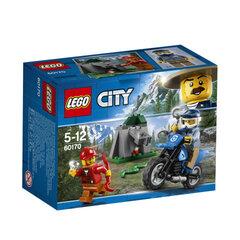 60170 Konstruktorius LEGO® City Police Gaudynės bekelėje