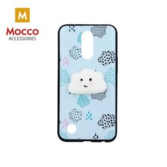 Mocco 4D Silikone Back Case For Mobile Phone With Cloud For Huawei P10 Lite