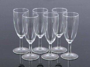 Luminarc šampano taurės Opti Magenta, 140 ml, 6 vnt kaina ir informacija | Taurės, puodeliai, ąsočiai | pigu.lt
