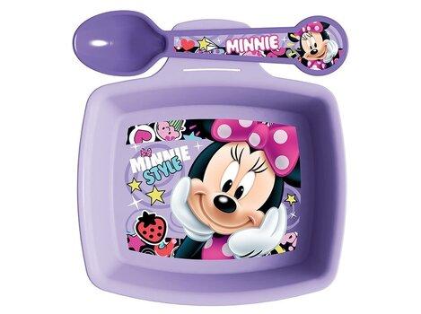 Disney vaikiškas pusryčių rinkinys Minnie Style