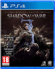 Middle earth: Shadow of War, PS4