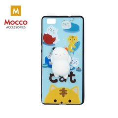 Mocco 4D Silikone Back Case For Mobile Phone With White Cat For Samsung A520 Galaxy A5 (2017) kaina ir informacija | Telefono dėklai | pigu.lt
