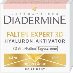 Dieninis kremas nuo raukšlių brandžiai odai su hialuronu Diadermine 3D Wrinkle Expert 50 ml