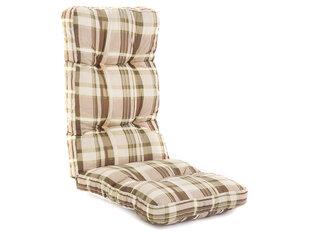 Pagalvė kėdei Patio Cordoba, ruda/kreminė