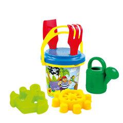 Smėlio žaislų rinkinys su kibirėliu Mochtoys kaina ir informacija | Vandens, smėlio ir paplūdimio žaislai | pigu.lt