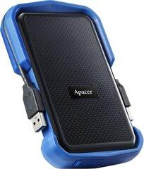 Apacer AC631 2.5'' 1TB USB3.1, Mėlyna kaina ir informacija | Išoriniai kietieji diskai (SSD, HDD) | pigu.lt