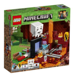 "21143 LEGO® Minecraft™ ""The Nether"" portalas"