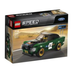 75884 LEGO® SPEED CHAMPIONS 1968 metų Ford Mustang Fastback