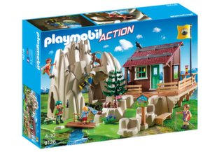 9126 PLAYMOBIL® Action, Alpinistų namelis