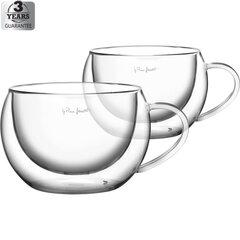 LAMART Vaso boral Capuccino puodeliai, 270 ml, 2 vnt
