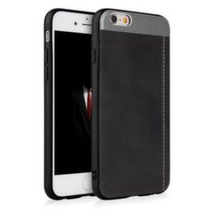 Qult Luxury Slate Back Case Silicone Case for Apple iPhone 7 / 8 Black