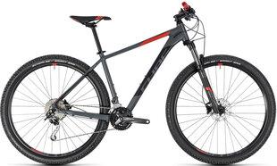 "Vyriškas kalnų dviratis Cube Analog 29 2018 grey""n""red"
