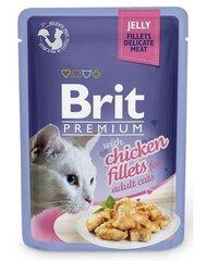 Konservai katėms BRIT PREMIUM Chicken in Jelly, 85g kaina ir informacija | Konservai katėms BRIT PREMIUM Chicken in Jelly, 85g | pigu.lt