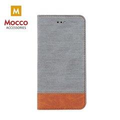 Mocco Smart Retro Book Case For Samsung A320 Galaxy A3 (2017) Gray - Brown kaina ir informacija | Telefono dėklai | pigu.lt
