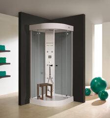 Hidromasažinė dušo kabina Sanplast KP/Free Line 90x90 kaina ir informacija | Hidromasažinės dušo kabinos | pigu.lt