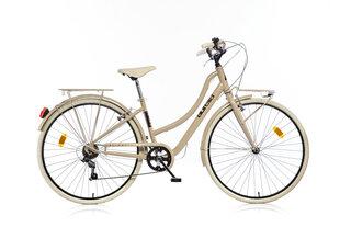 "Moteriškas miesto dviratis Aurella Street 1028-STD 28"", cappuccino"
