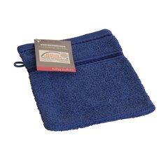 Rankšluostis - pirštinė Axentia mėlynas, 16x20 cm kaina ir informacija | Rankšluosčiai | pigu.lt