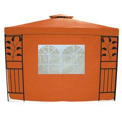 Šoninė pavėsinės sienelė su langu, oranžinė kaina ir informacija | Pavėsinės | pigu.lt