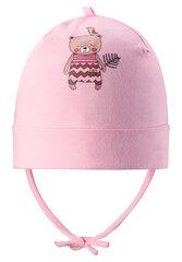 LASSIE pavasarinė kepurė, baby pink, 718742-4070