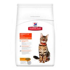 Hill's Science Plan Adult 1-6 Optimal Care sausas maistas katėms su vištiena, 2 kg